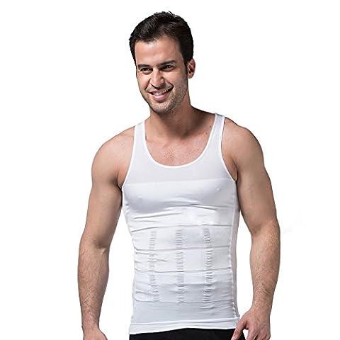 FitnessSun - Herren Strumpfhosen Unterhemd - Kompression Base Layer -