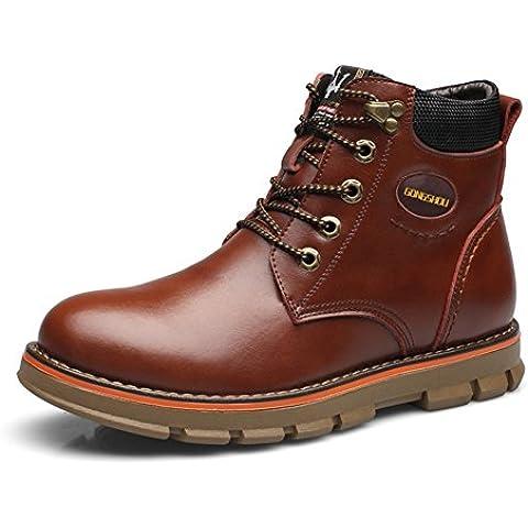 LYF KIU Martin stivali/ scarpe di ricreazione di inverno dell'Inghilterra/