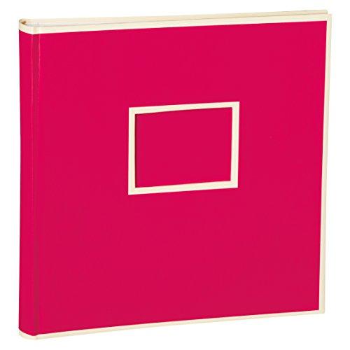 Semikolon Jumbo Album pink (rosa) | Foto-Album mit 100 Seiten | Foto-Buch mit 50 Blättern...