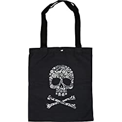 styleBREAKER bolsa de tela con estampado, cierre de botón a presión, para compras marítimo