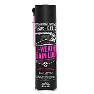 Muc-Off Motorcycle All Weather Chain Lube, 400ml
