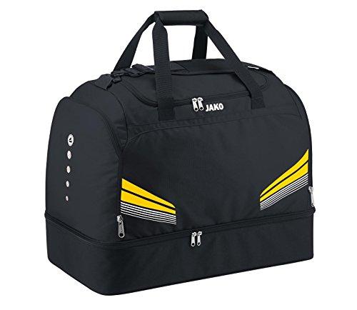 JAKO Sporttasche Pro mit Bodenfach Schwarz/Grau/Weiß