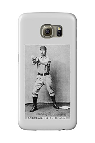 Omaha Minor League - Wally Andrews - Baseball Card (Galaxy S6 Cell Phone Case, Slim Barely There)