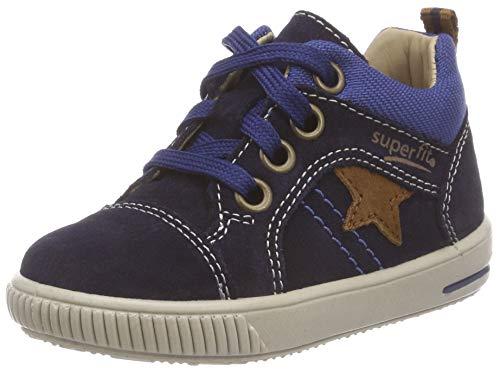 Superfit Baby Jungen Moppy Sneaker, Blau (Blau/Blau 80), 24 EU