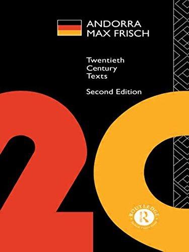 Andorra: Max Frisch (Twentieth Century Texts) (1994-12-01)