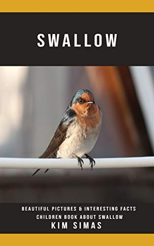 Descargar Epub Swallow: Beautiful Pictures & Interesting Facts Children Book About Swallow