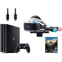 PlayStation VR Start Bundle 5 Items: VR Start Bundle,PS 4 Pro 1TB,VR game disc Resident Evil 7: Biohazard(US-Version, Importiertes)