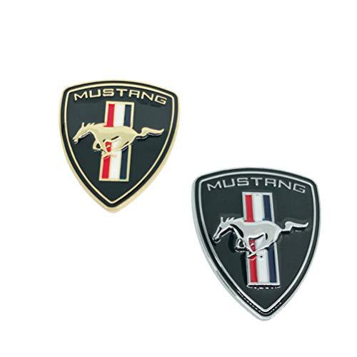 dekorative Logo-Ford Auto Aufkleber Körper Dekoration Side Standard, galvanisch Logo für Ford Mustang ()