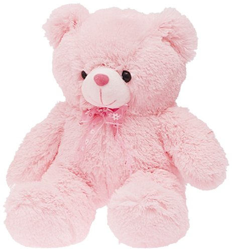 Dimpy Stuff Pink Bear with Bow Soft Toy, Pink (50cm)  available at amazon for Rs.329