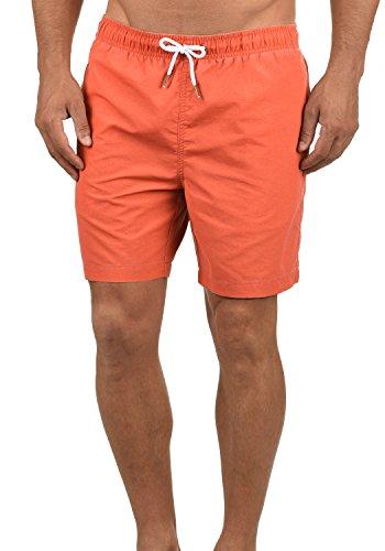 Blend Balderi Bañador De Natación Short para Hombre, tamaño:M, Color:Mandarin Red 73803