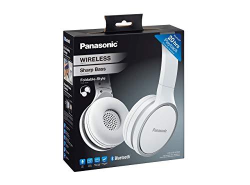 Panasonic RP-HF400BE-W Bluetooth On-Ear Kopfhörer (On-Ear, bis 20 h Akkulaufzeit, Quick Charge, Mikrofon, Sprachsteuerung, weiß) - 4