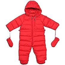 Oceankids Tuta monopezzo / tuta da neve / da passeggino con cappuccio, da bambina 0-24 Mesi