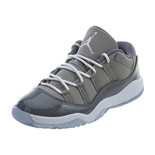 Nike Jordan 11 Retro Low Bp - medium grey/white-gunsmoke - Freizeit-Schuhe-Kinder, Größe:2.5Y (Nike Schuhe Für Mädchen Größe 11)