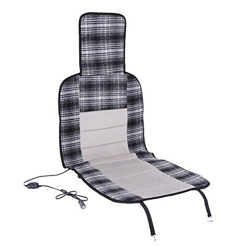 Auto Beheizte Sitzkissen Bezug 12V Auto Sitz Wärmer Kissen für kalte Tage