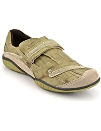 ID Men's Green Casual Shoes