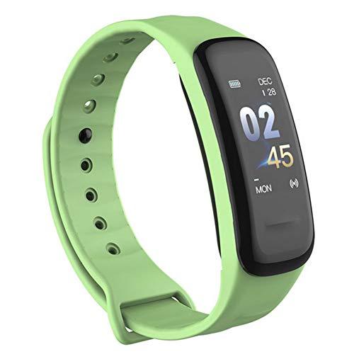 Sguan-wu C1Plus Sport Smart Armband Herzfrequenz-Schlafmonitor Wasserdichter Fitness-Tracker - Grün