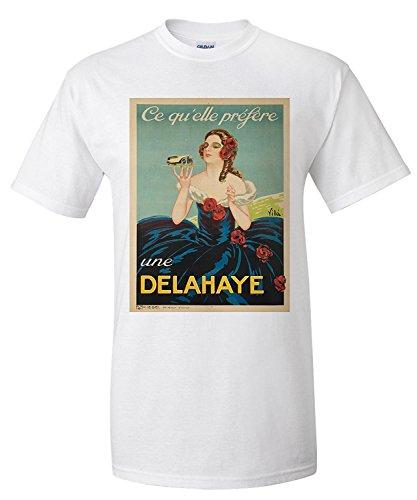 delahaye-vintage-poster-artist-vila-france-c-1935-premium-t-shirt
