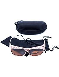 Sonnen-Überbrille UV 400 Polarisiert f. Brillenträger Polbrille Set TV Grau Neues Model Flexbügel wNWjf