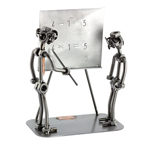 Steelman24 I Teacher with Student with Personal Engraving I Made in Germany I Gift Idea