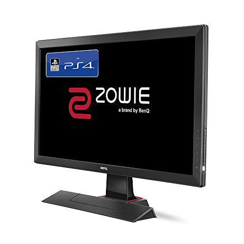 BenQ ZOWIE RL2455S 60,96 cm (24 Zoll) Konsolen e-Sports Monitor (offiziell lizensiert für PS4/PS4 Pro, Lag-free, Black eQualizer, Color Vibrance, 1ms Reaktionszeit) grau - 3