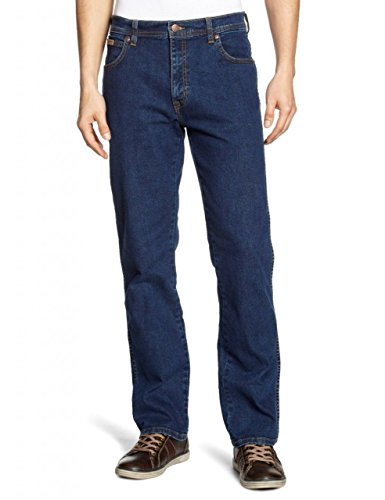 Preisvergleich Produktbild Wrangler Jeans Texas,  Herren,  W48 / L34,  Dunkler Stein