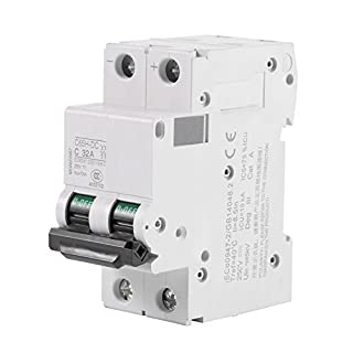2P 250V Low-voltage DC Miniature Circuit Breaker For Solar Panels Grid System din rail mount(32A)