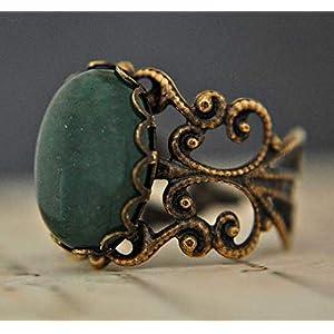 BESTSELLER Vintage Jade II Ring Bronze Edelstein
