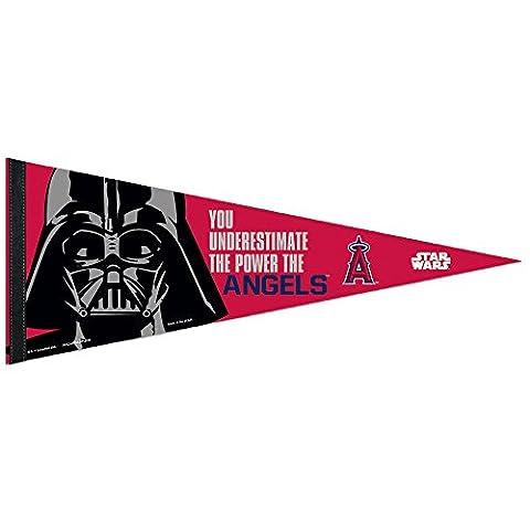 MLB Anaheim Angels Star Wars Darth Vader Premium Pennant, 12 x 30-Inch