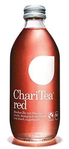 ChariTea Red - Bio Rooibos-Tee Fairtrade - 0,33l inkl. Pfand