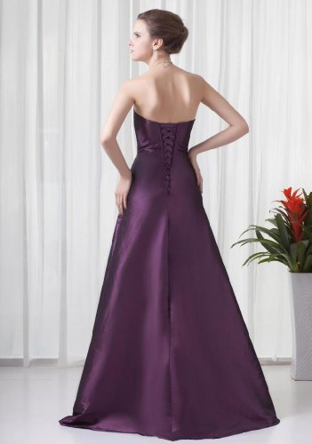 Lemandy - Robe - Sans Manche - Femme violet violet Refer to the image