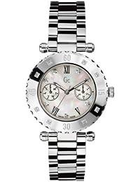 Reloj Guess Collection Gc Diver Chic 8 Diamond X42106l1s Mujer Nácar 838cd17c0b2e