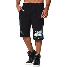 Zumba Fitness Nation - Pantalones cortos para hombre