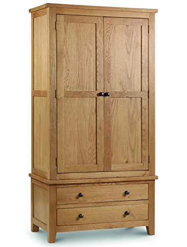 Julian Bowen Marlborough Combination Wardrobe Best Price and Cheapest