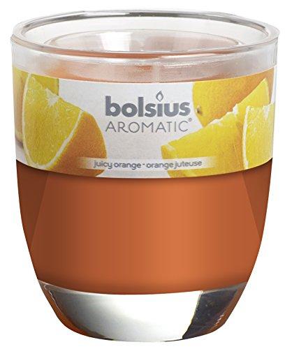 Bolsius Duftglas, 80 x 70 mm, Juicy Orange