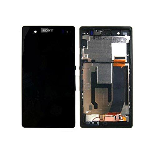 SKILIWAH® Pantalla táctil LCD Digitalizador Asamblea para Sony Xperia Z L36h L36i C6606 C6603 C6602 C660x