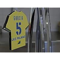Imán para frigorífico con diseño de camiseta de fútbol de la primera división de la Liga