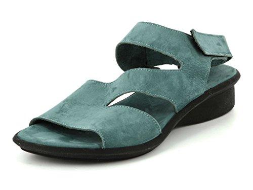 Sandálias E Mulas Em Meio Arca Saossy Mulheres Celadon