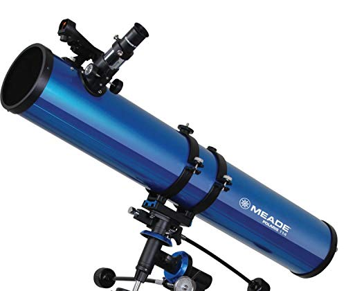 Telescopio Reflector Meade Polaris 114 EQ Motorizado