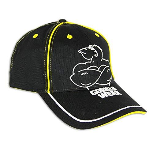 Gorilla Wear Muscled Monkey Cap - schwarz - Bodybuilding und Fitness Accessoire für Damen und Herren