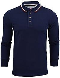 Brave Soul - T-Shirt Homme Kennedy Rappel Col Manche Long