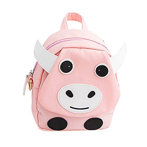 PLOT Backpack Girls Boys Cattle Backpacks School Bags Travel Bag Schoolbag Bookbag