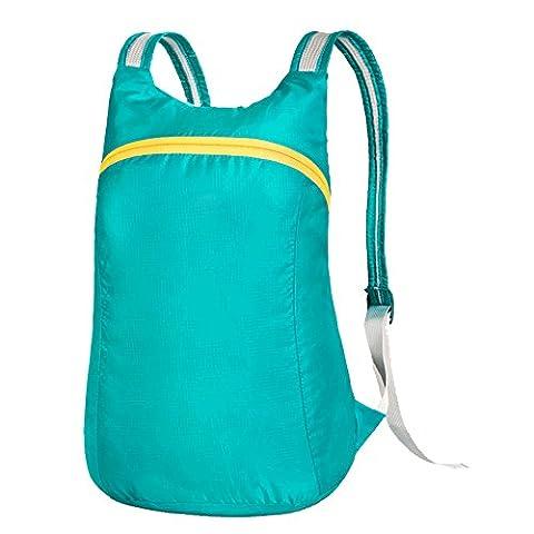Ezyoutdoor knapsack Infantry Pack Rucksacks Backpack for Camping Hiking Trekking , Students School Shoulder Backpacks Fits Up to Laptop Macbook Computer water bag helmet(blue)