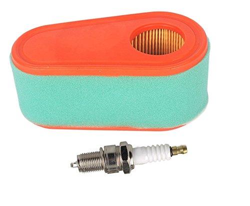 Ouyfilters 795066 ovale de remplacement filtre à air 796254 Pre filtres pour Briggs & Stratton 111p02 111p05 775 - moteurs de série 1000