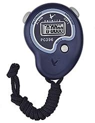 Digital Cronómetro Temporizador Cronógrafo Deportivo Reloj Deportivo con Reloj Alarma, Calendario y Pantalla LCD Grande, Azul