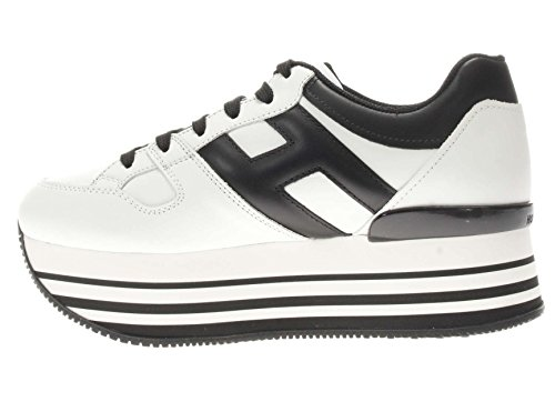 Hogan Donna Sneaker HXW2830T548KLA0001 H 283 Maxi 222 Bianco\\nero
