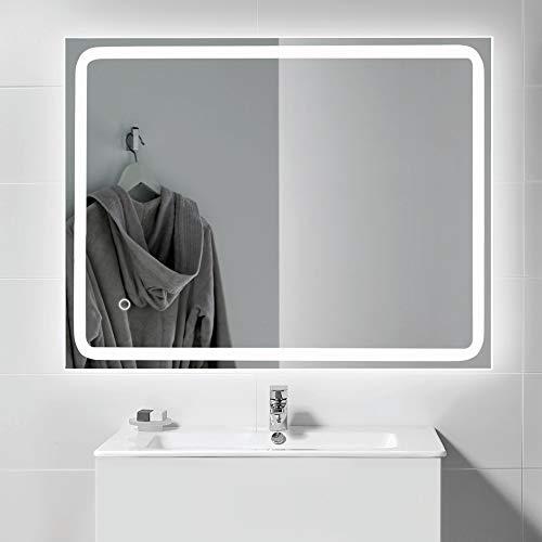 Kalb | Espejo LED integrado para cuarto de baño PIA 60x80cm