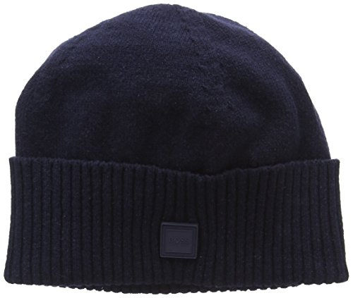 BOSS Casual Herren Kotapran Strickmütze, per Pack Blau (Dark Blue 404), One Size (Herstellergröße: STCK)