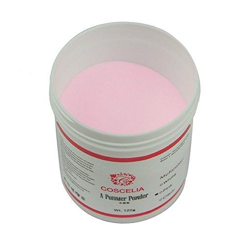 Coscelia 120g Poudre Acrylique Résine Rose