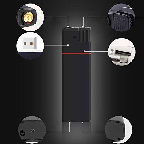 Versteckte Spion Kamera HD 1080P Feuerzeug USB DVR Kindermädchen Cam U Disk Video Recorder Tragbare Mini DV IR Automatische Nachtsicht Ohne Objektiv Loch