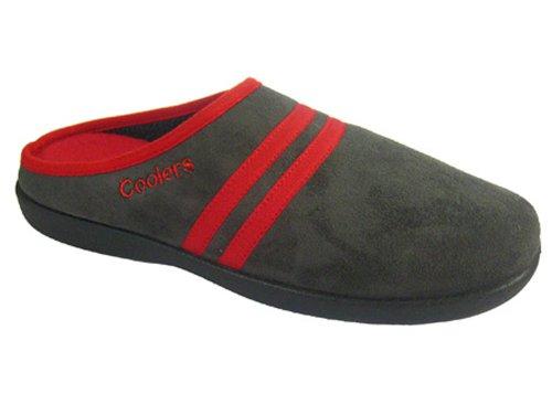 Uomini Del Carbone Mulo Foam Di Esterna Legna Pantofole Memory Suola qP75P
